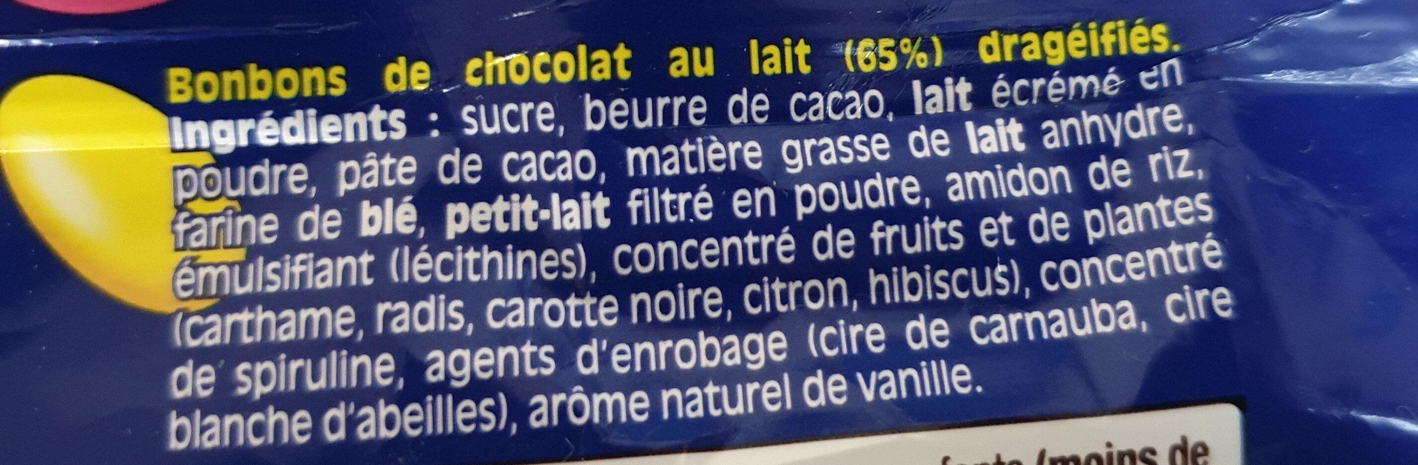 Smarties - Ingrediënten - fr