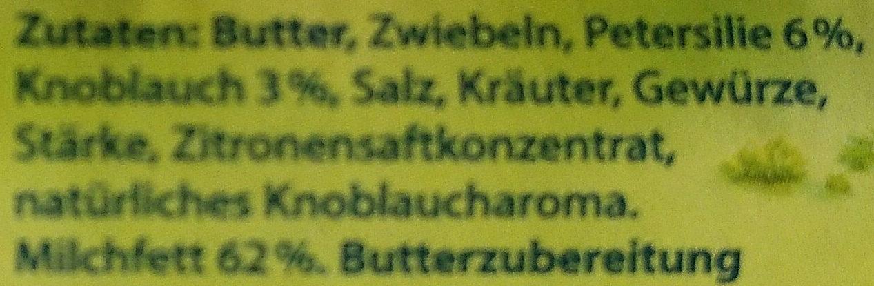 Kräuterbutter - Ingrediënten - de