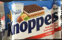 Knoppers Milch-Haselnuss-Schnitte knusprig - Product - de