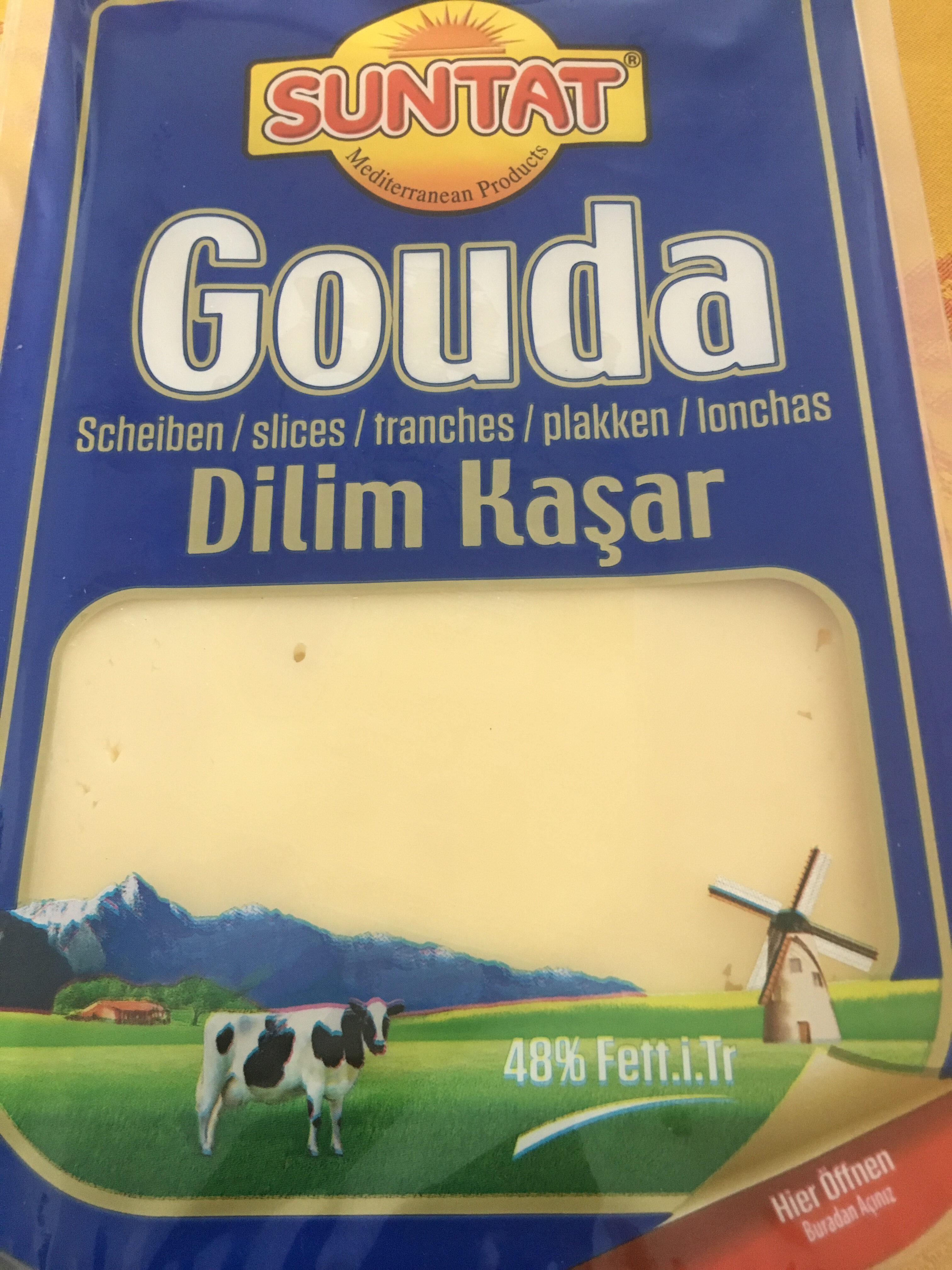 Gouda Cheese Sliced - Product - fr