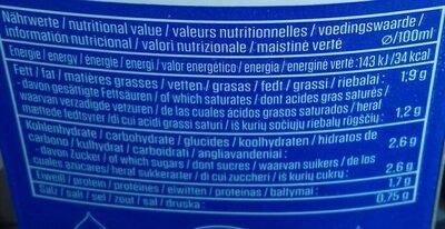 Natural Ayran - Informations nutritionnelles