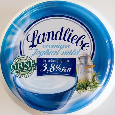 Landliebe cremiger Joghurt mild 3,8% Fett - Producto