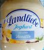Landliebe Joghurt Mit Echter Vanille - Produit
