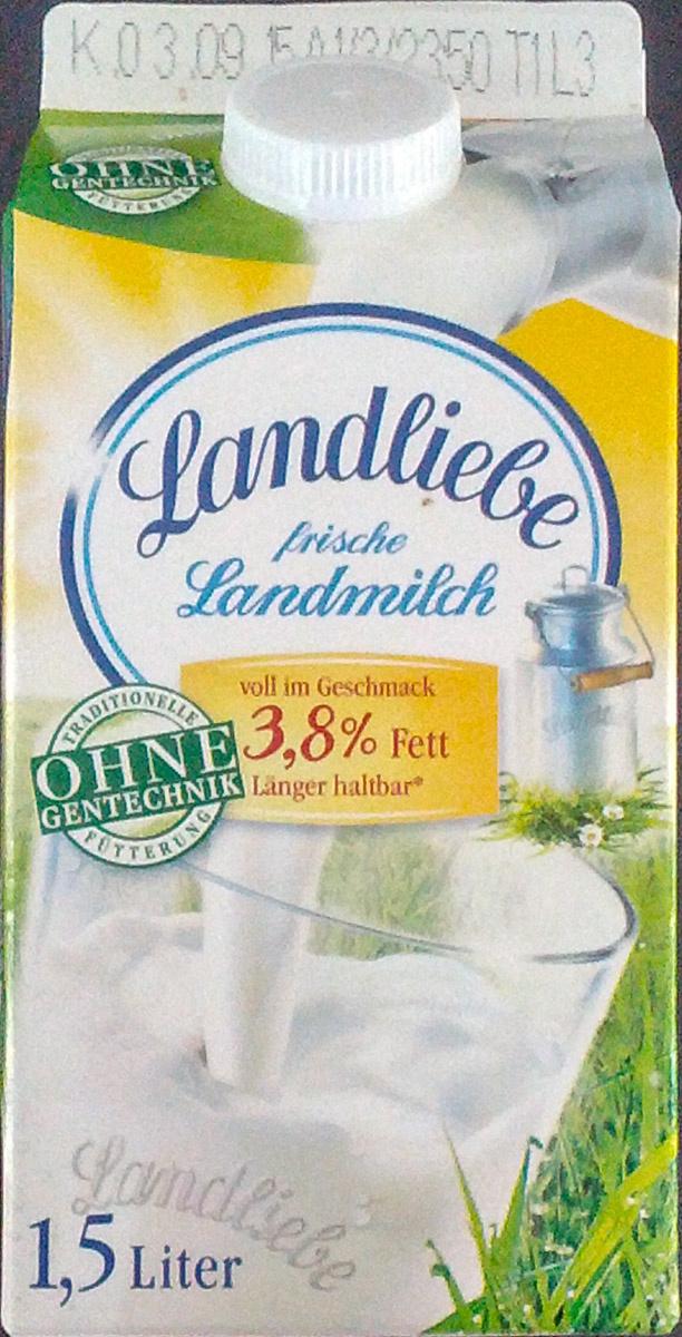 Landliebe frische Landmilch - Product - de