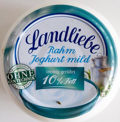 Landliebe Rahm Joghurt mild 10% Fett - Product