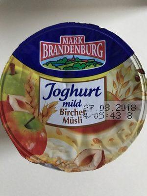Mark Brandenburg Joghurt Bircher Müsli - Produit