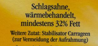 Landliebe frische Schlagsahne - Zutaten - de