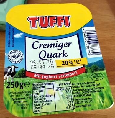macht quark fett