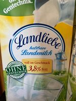 Haltbare Landmilch 3,8% Fett - Product - fr