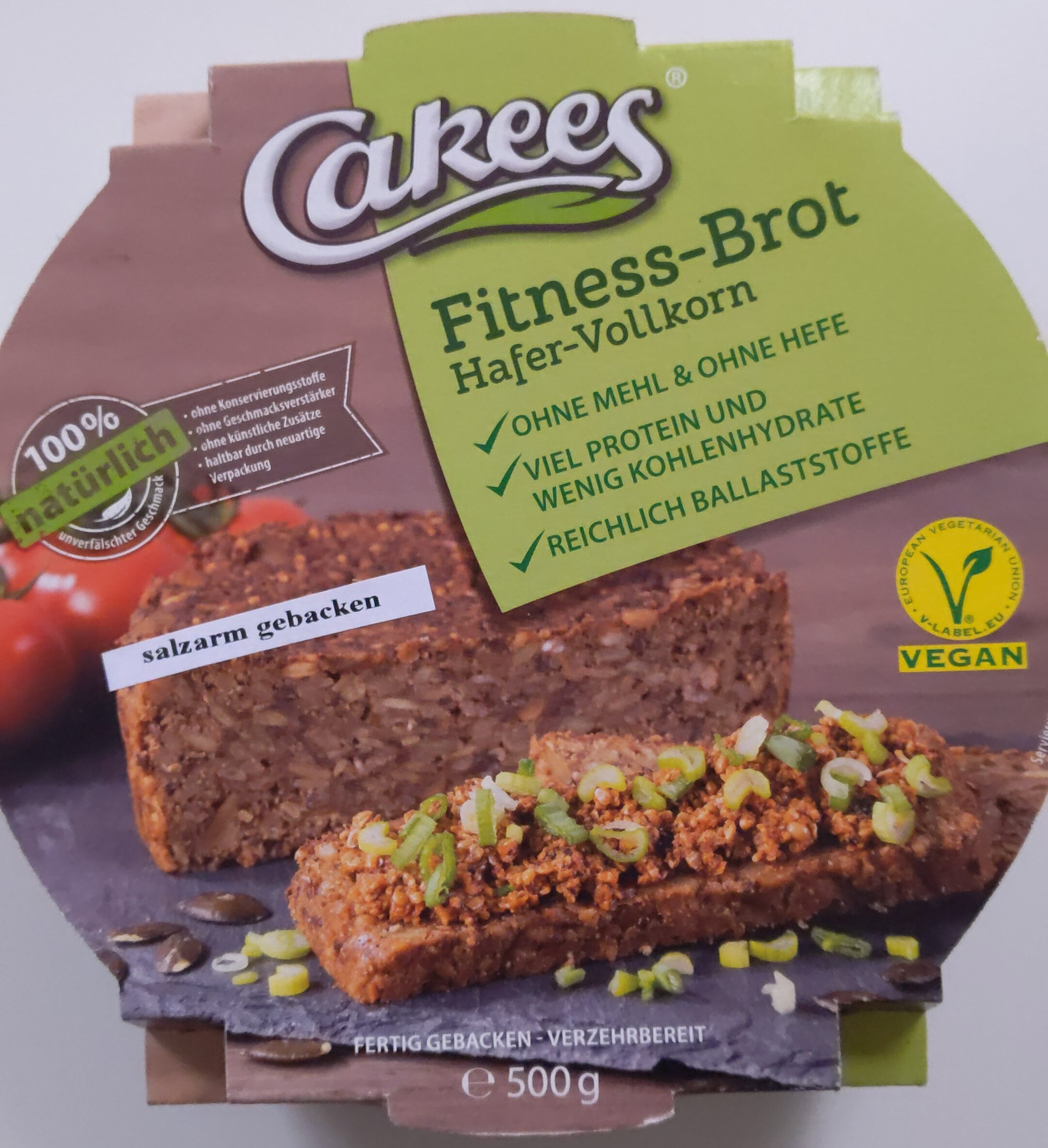 Fitness-Brot Hafer-Vollkorn - Product - de