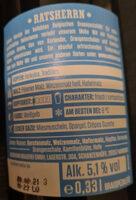 Belgian White Ale - Ingrédients - de