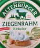 Ziegenrahm - Kräuter - Produkt