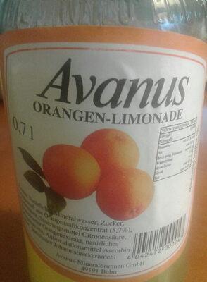 Avanus Orangen-Limonade - Product - de