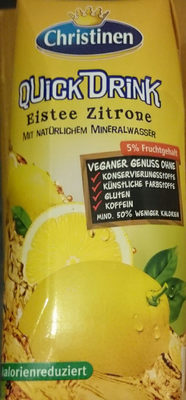 QuickDrink Eistee Zitrone - Produkt