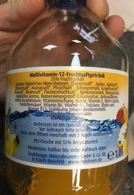 Multi-Vitamin - Ingrédients - fr