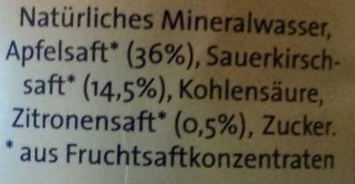 Apfel-Kirsch-Zitrone - Ingrédients - de