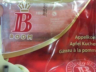 Gâteau à la pomme   Apfelkuchen - Prodotto - fr