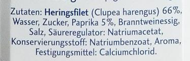 Hanseatenröllchen - Inhaltsstoffe - de