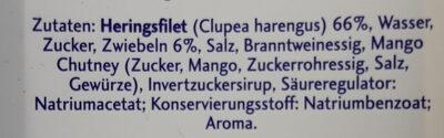 Friesenröllchen - Ingrédients - de