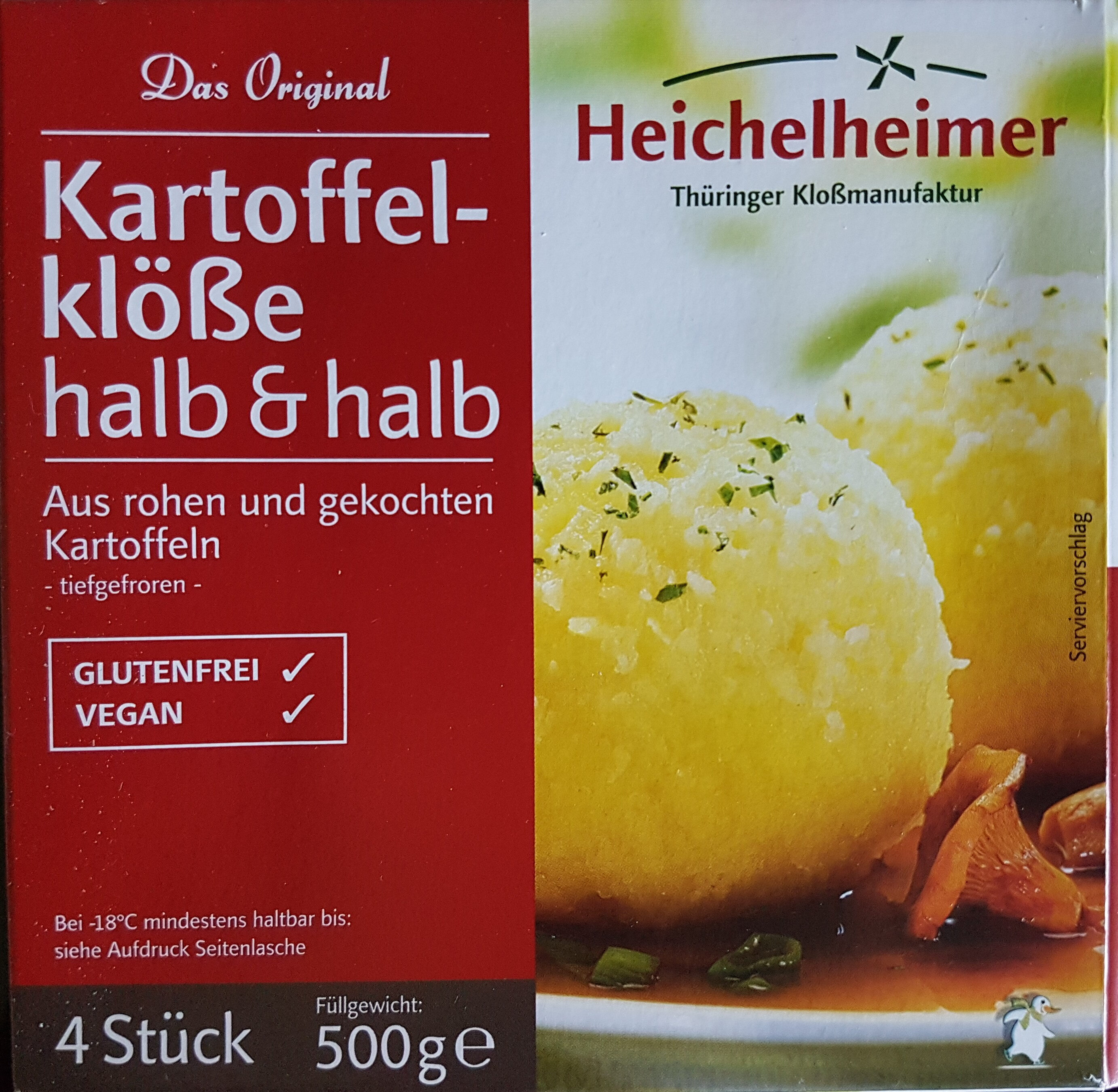 Kartoffelklöße halb & halb - Product - de