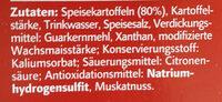 Kartoffelklöße halb & halb - Ingredients - de