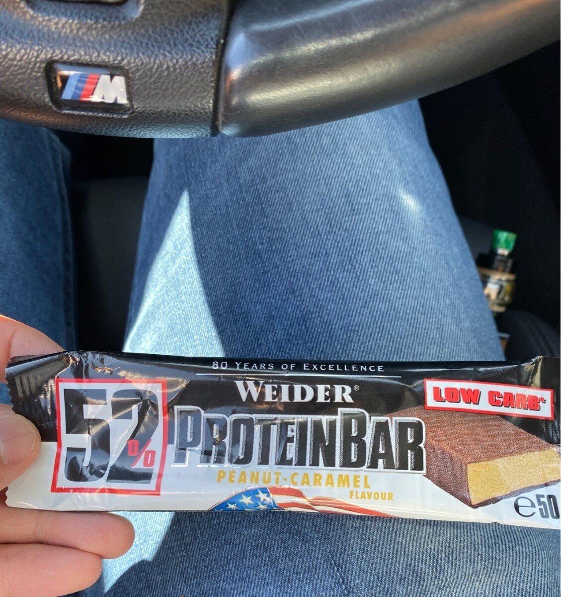 Proteinbar 52%, Peanut Caramel - Product
