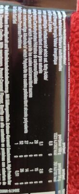 Proteinbar 52%, Peanut Caramel - Nutrition facts - es