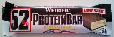 Protein bar banana-crisp flavour - Product - en