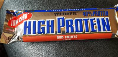 Barre protéinée fruits rouges - Prodotto - de
