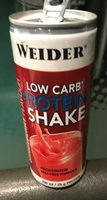 Low Carb Protein Shake Strawberry Flavour - Produit - fr