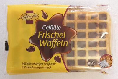 Gefüllte Frischei Waffeln, Mit Kakaohaltiger Fettg. .. - Produkt