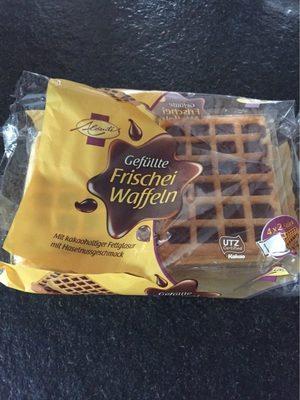 Gefüllte Frischei Waffeln, Mit Kakaohaltiger Fettg. .. - Produit