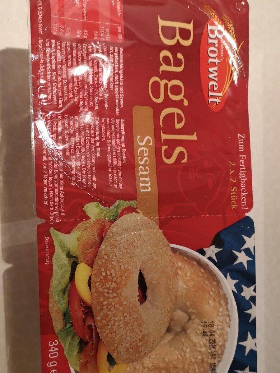 Bagels Sesam - Product - de