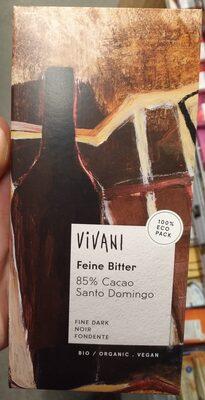 Feine Bitter 85% Cacao Santo Domingo - Product - de