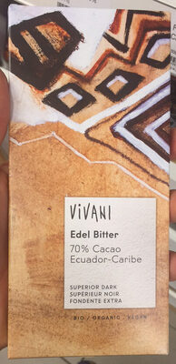 Chocolat Amer 70% Cacao - Product - fr