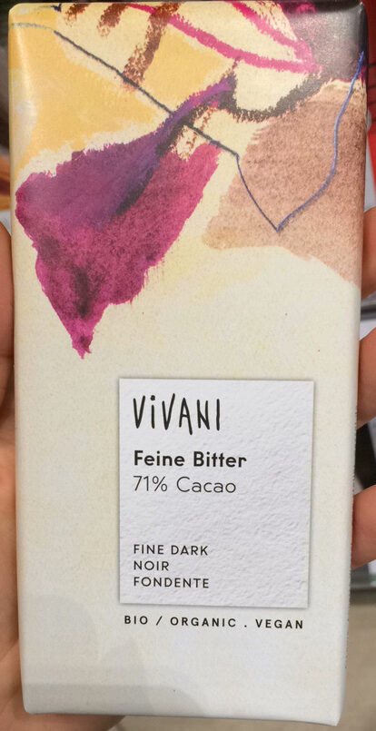 Zartbitter-Schokolade Feine Bitter mit 71 % Kakao - Produit - fr