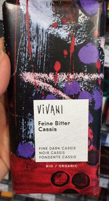 Chocolat Noir Cassis - Product - de