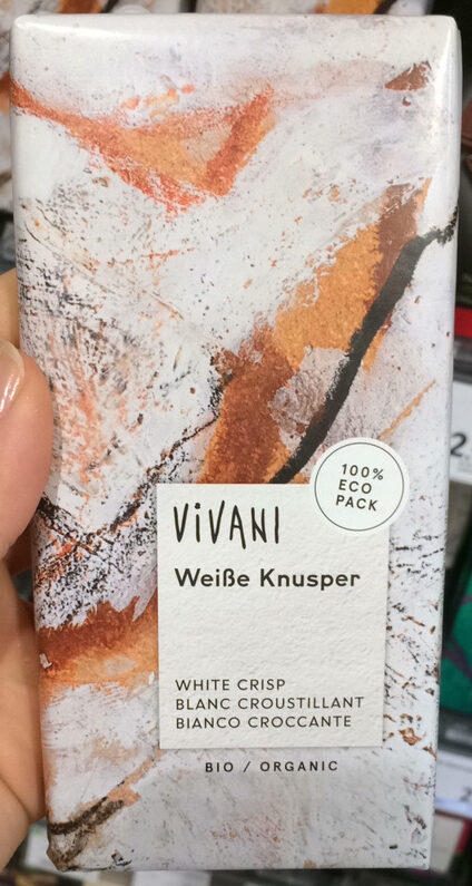 Chocolat blanc croustillant - Product
