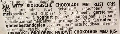 Weiße Knusper - Ingrediënten - nl