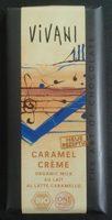 Chocolat au Lait Caramel Crème - Produit