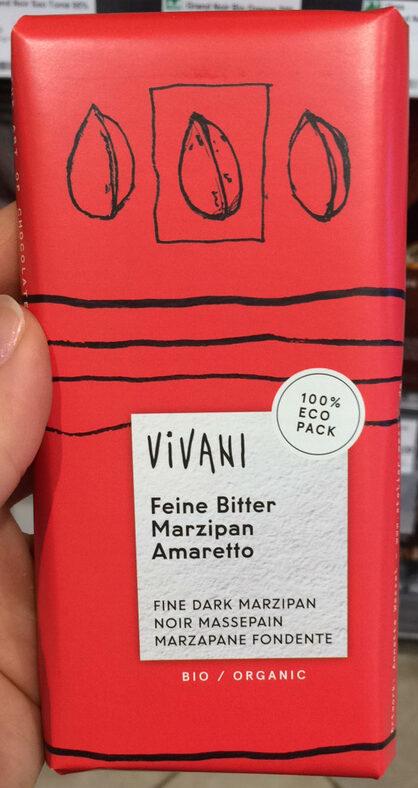 Vivani feine bitter marzipan amaretto - Product - de