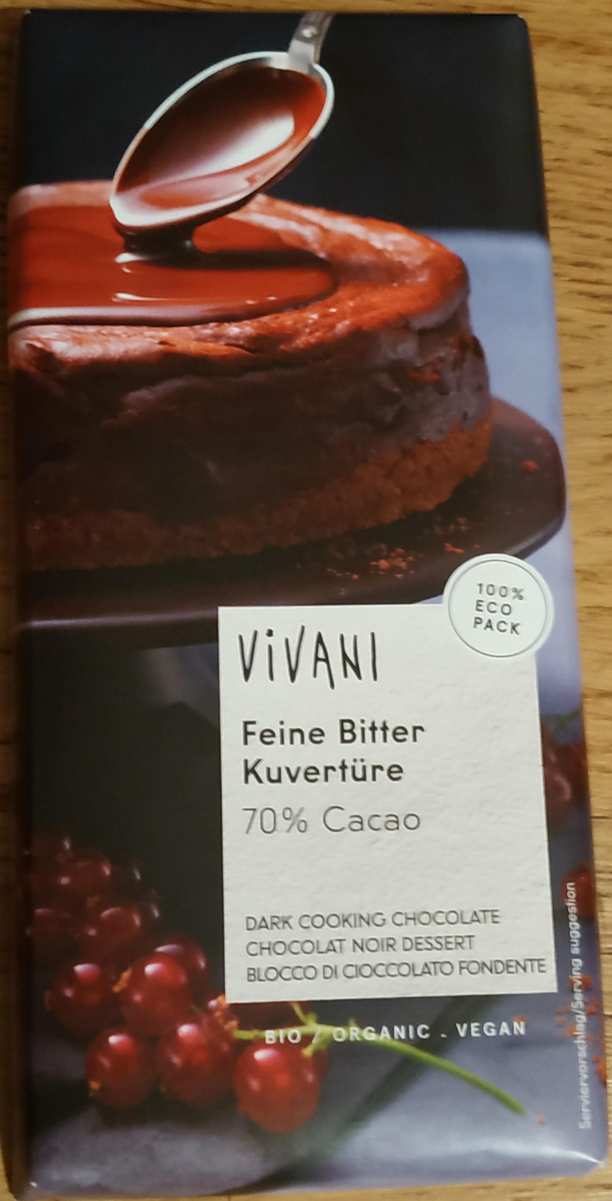 Feine Bitter Kuvertüre - Product - de