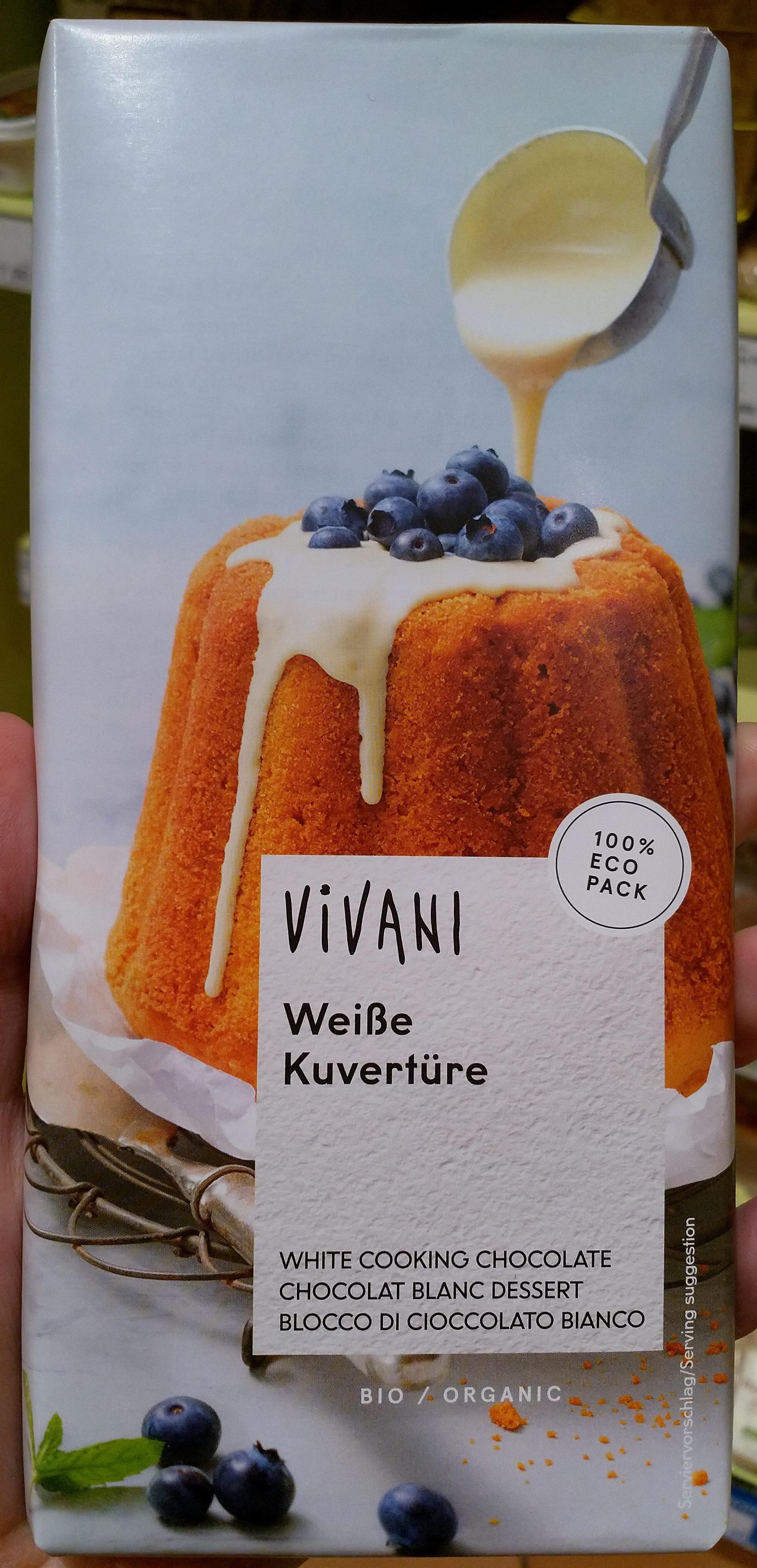 Chocolat de couverture blanc biologique - Product - fr