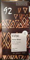 Feine Bitter 92% cacao Panama - Product - de