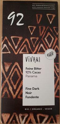 Chocolat noir 92% Panama - Product - fr