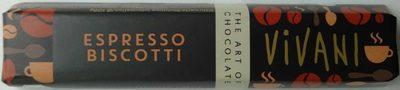 Espresso biscotti - Produit - de