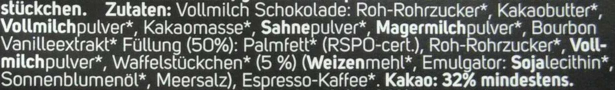 Espresso biscotti - Ingrédients - de