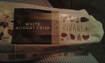 WHITE NOUGAT CRISP rice choc - Product - de