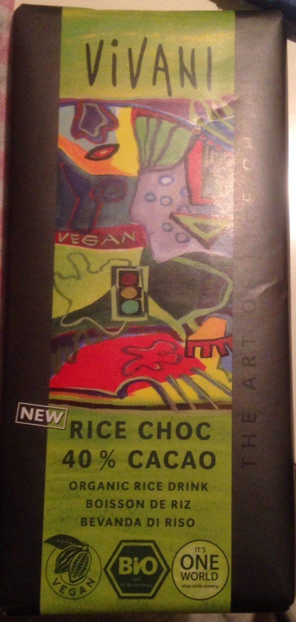 Rice Choc 40% Cacao - Produit