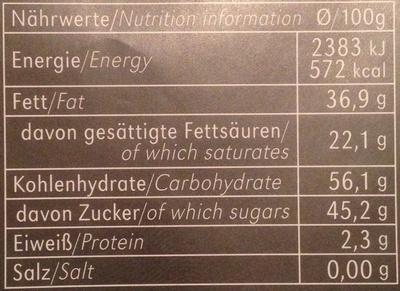 Rice Choc 40% Cacao - Informations nutritionnelles - en